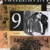 Литература. 9 класс. Учебник-хрестоматия.  Курдюмова Т.Ф. и др.
