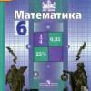 Математика. 6 класс. Учебник.  Никольский С.М., Потапов М.К. и др.